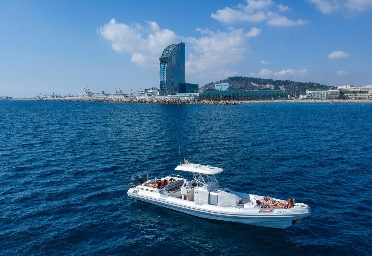 Fiesta a bordo en Barcelona