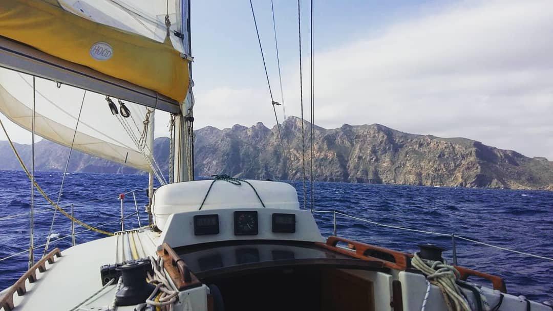 Travesía en velero Algarve - Málaga
