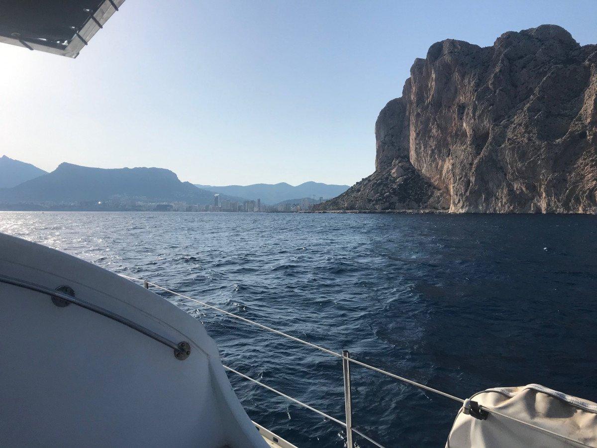 Salidas en velero los fines de semana en Altea