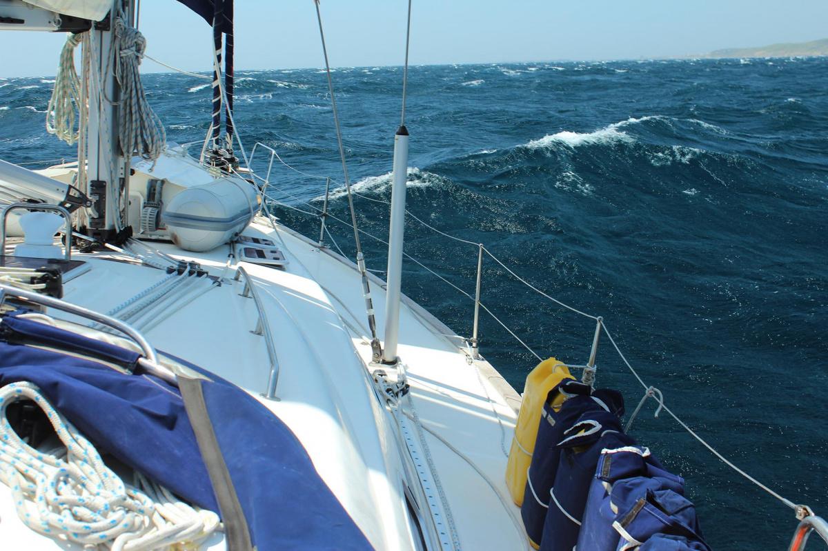 Viaje en velero de Rodas a Sicilia