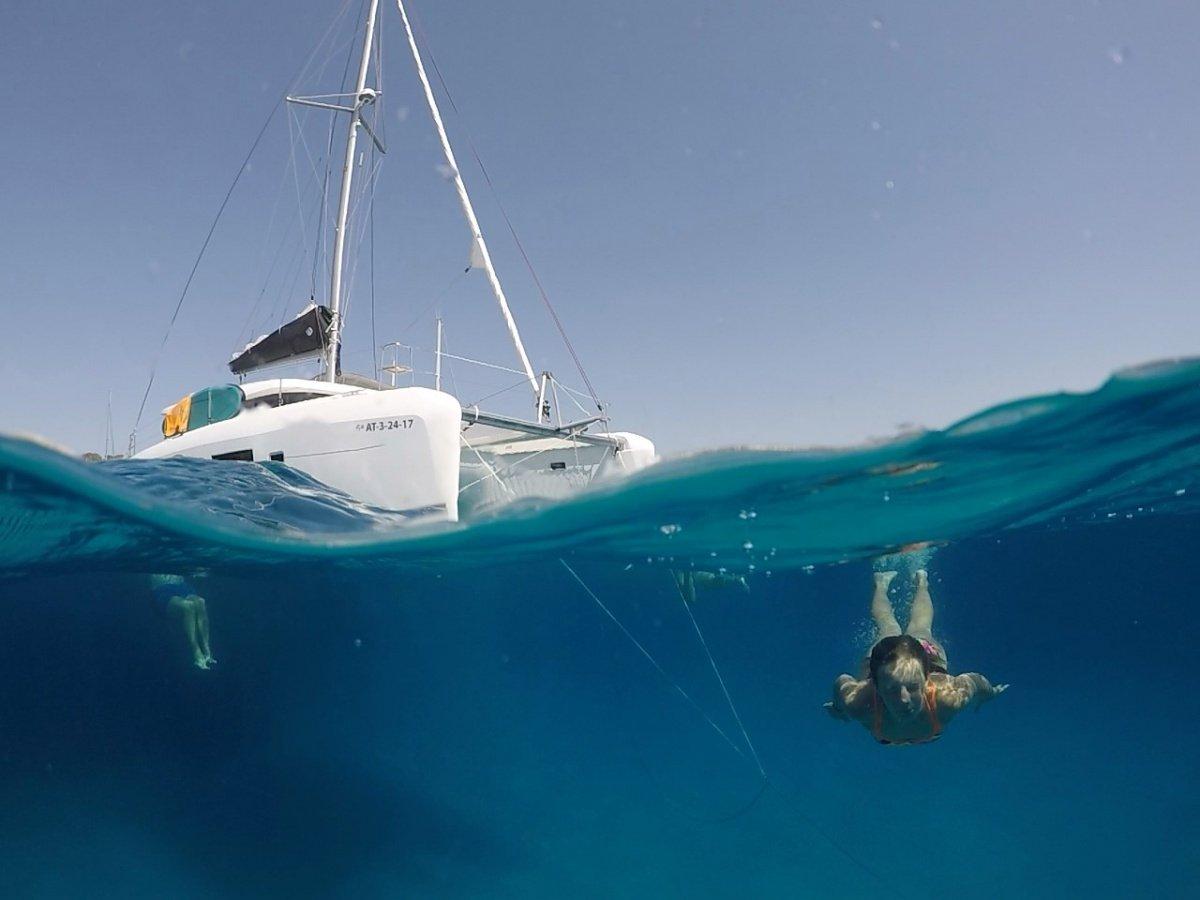 Alquiler semanal de Lagoon 42 por Ibiza y Formentera