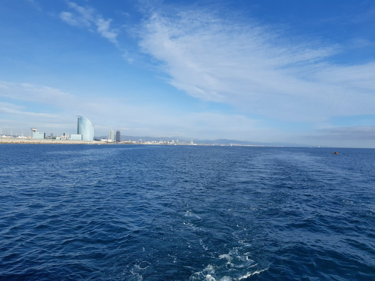 Viaje en velero de Barcelona a Sevilla