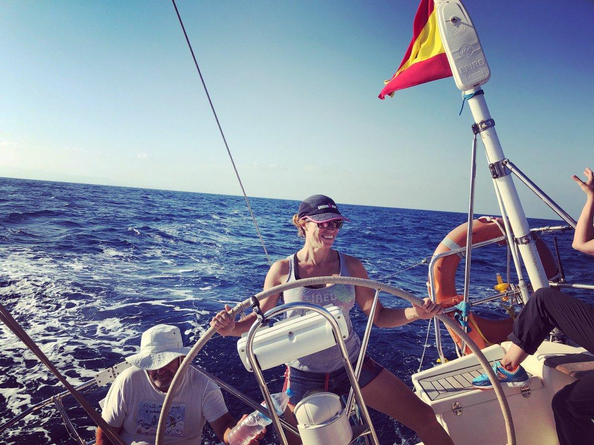 Curso de PER a bordo desde Valencia con todas las prácticas