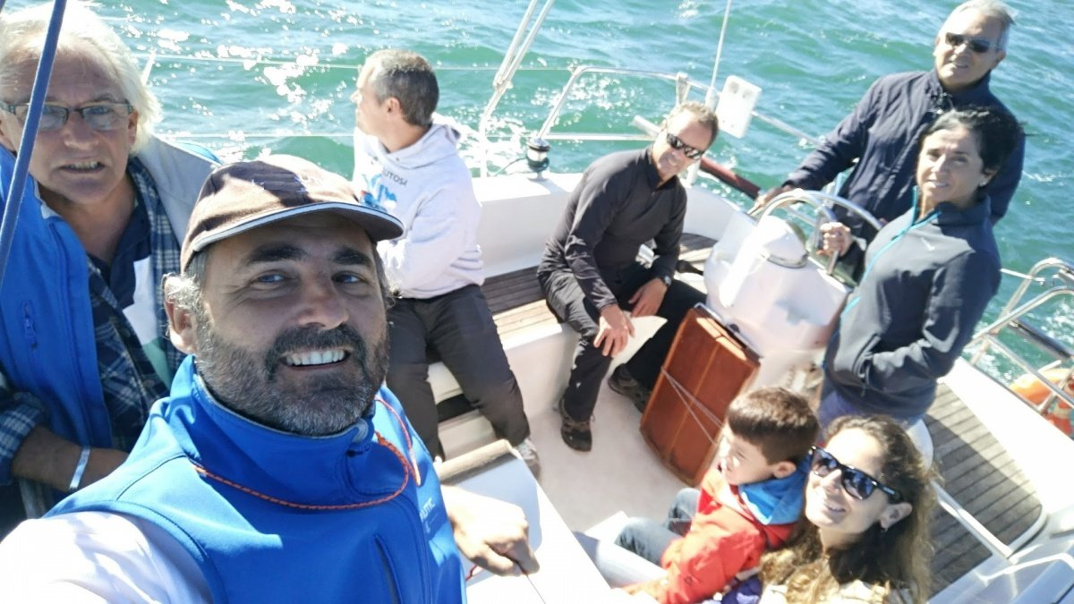 Regata Trofeo de primavera de crucero en Gijón