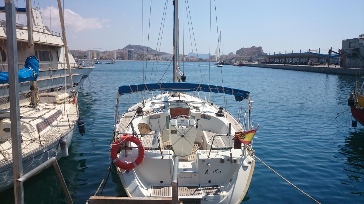 Prácticas de ampliación del PER a Baleares desde Águilas
