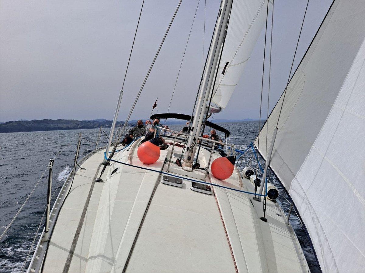 Paseo en velero desde Getaria
