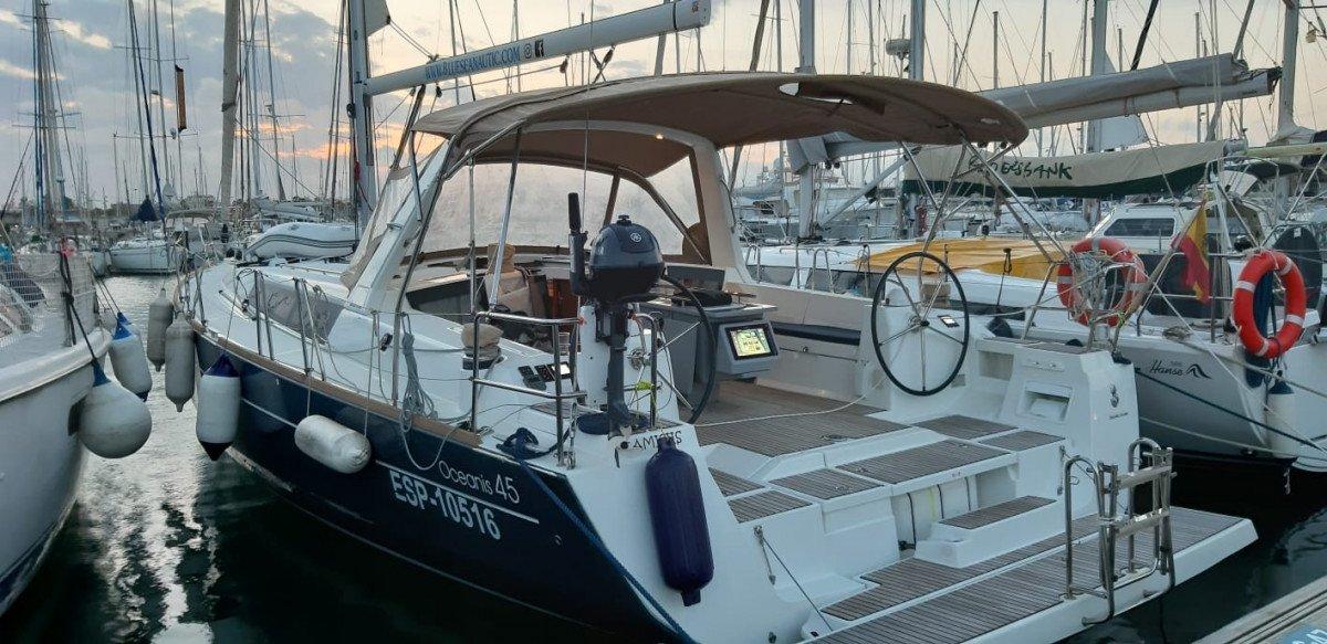 Navegación astronómica a vela Valencia-Baleares-Barcelona