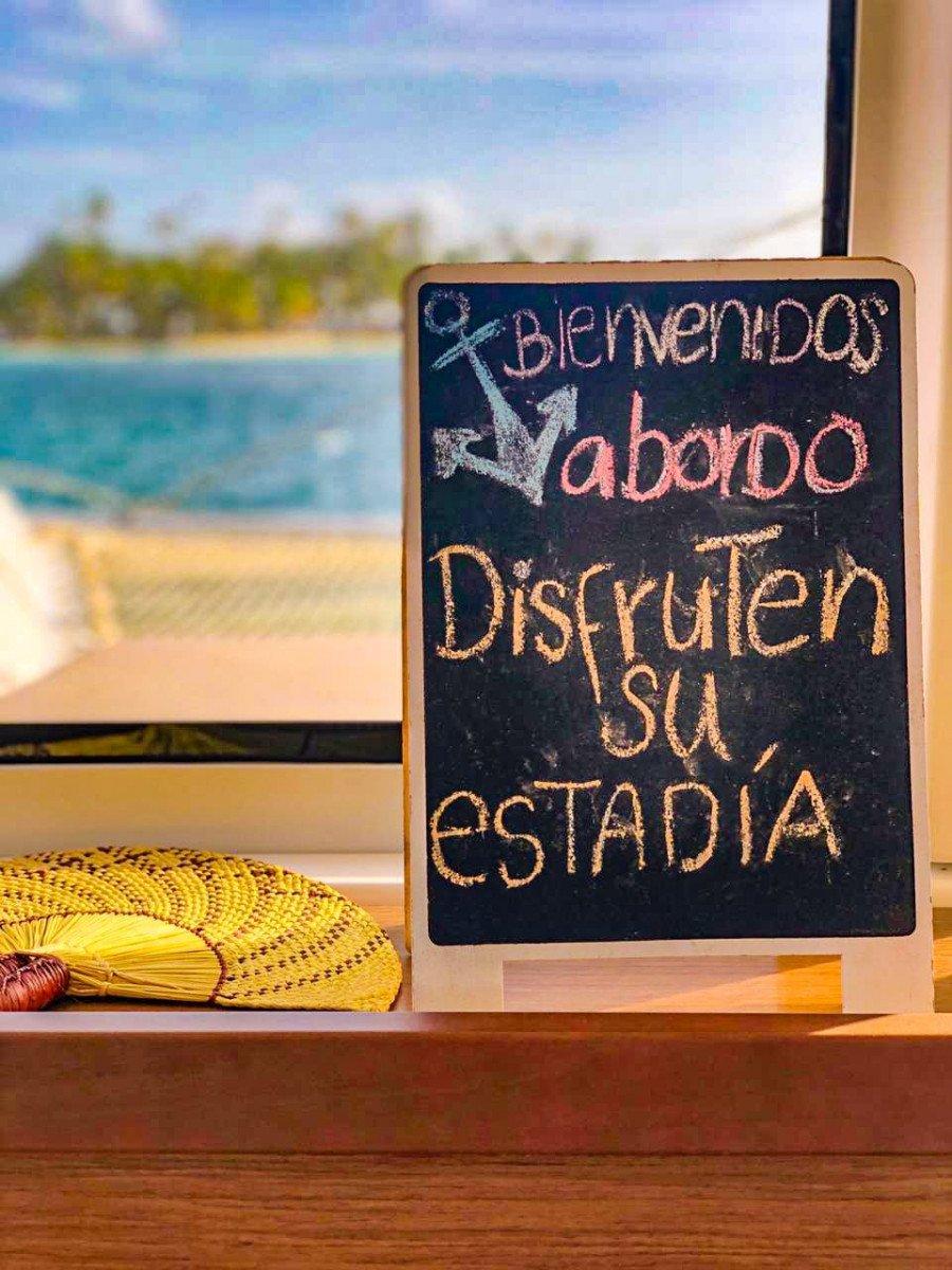 Viaggio in catamarano da San Blas al Belize