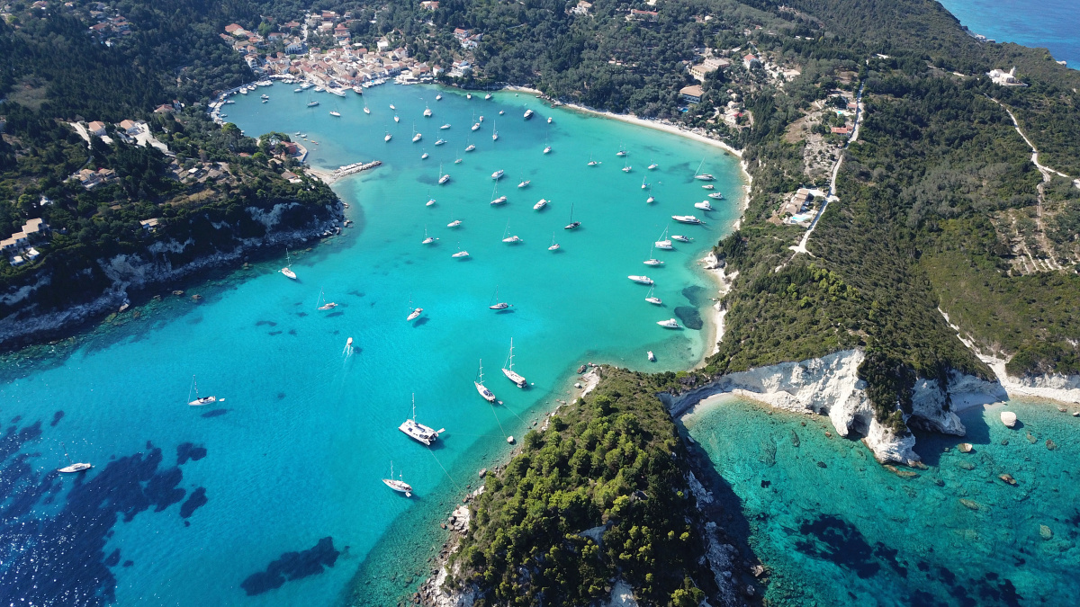 Sailing holiday for a week in the Ionian Islands