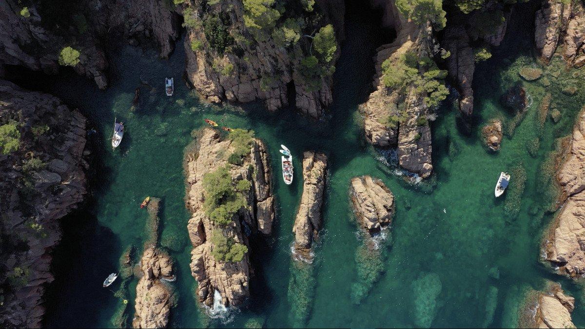 Navega en Barco por la Costa Brava - ¡Paddle Surf y Snorkel!