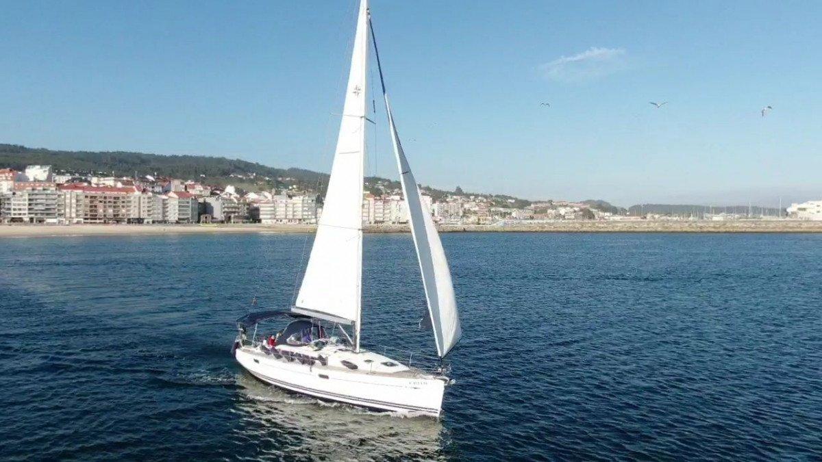 Camino de Santiago en velero desde Vigo