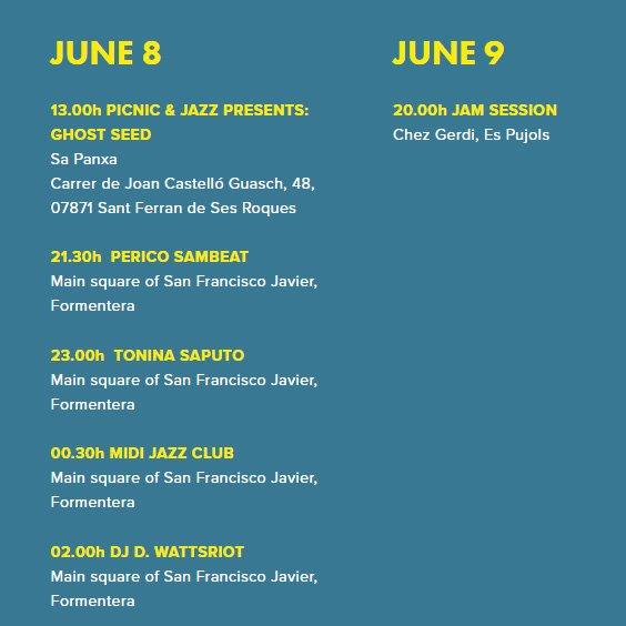 Formentera Jazz Festival - Navegación en velero