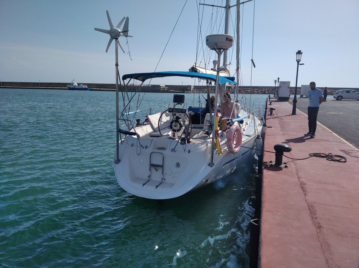 Paseo en velero por Almerimar