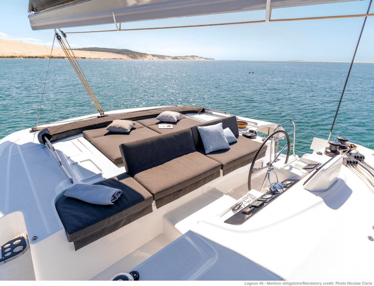 Alquiler semanal de Lagoon 46 en Ibiza