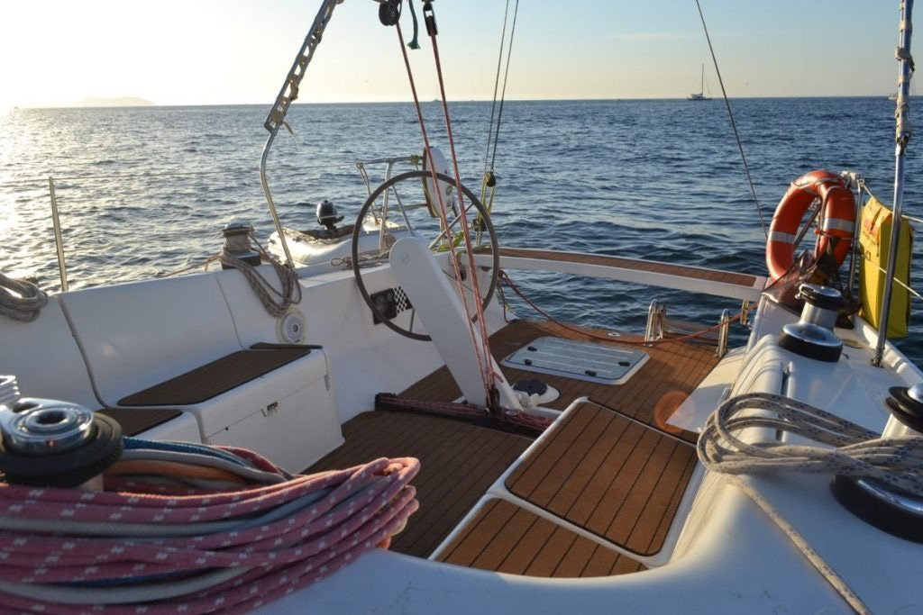 Regata Ophiusa navegando de Sitges a Formentera