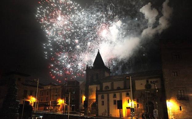 Noche de los Fuegos Begoña en Gijón