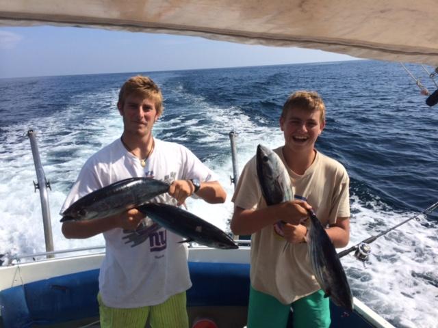 Salida de pesca y excursión en la Flecha del Rompido