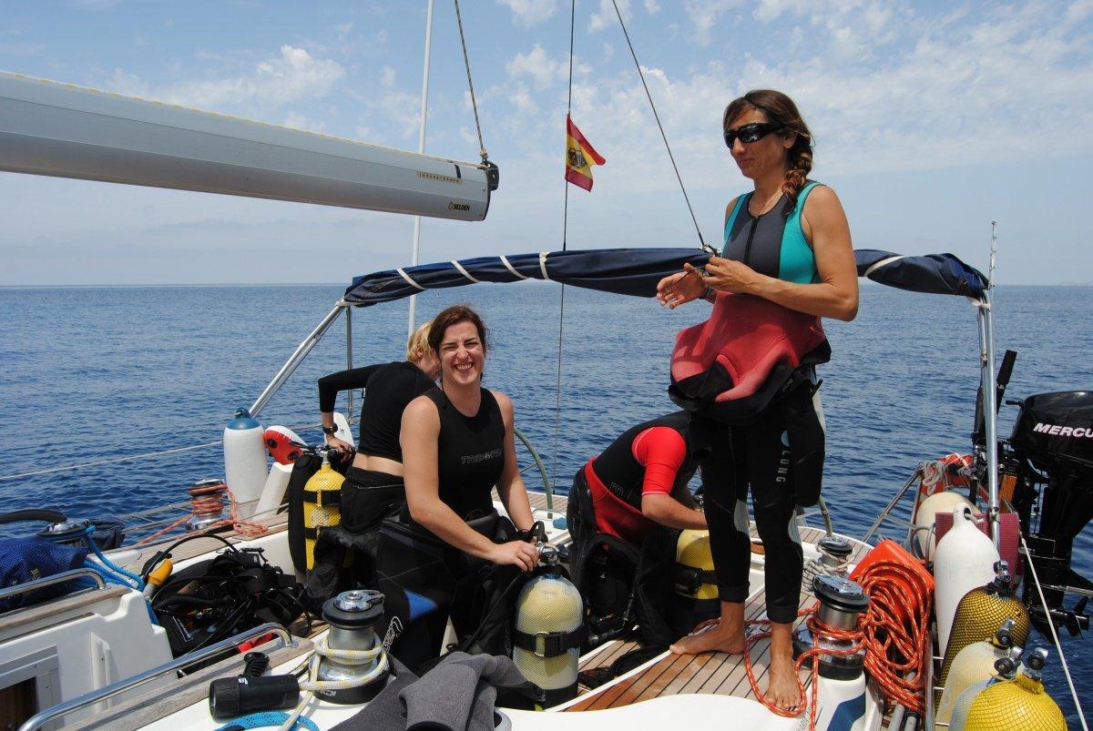 Crucero vela y buceo en Tenerife y La Gomera durante una semana