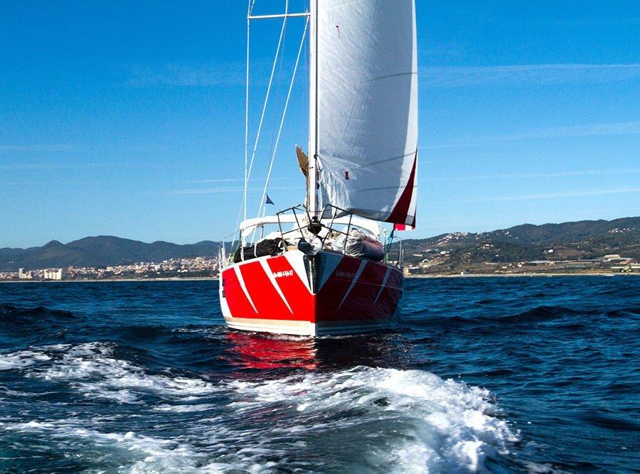 Curso de PER a bordo, una semana navegando por Menorca