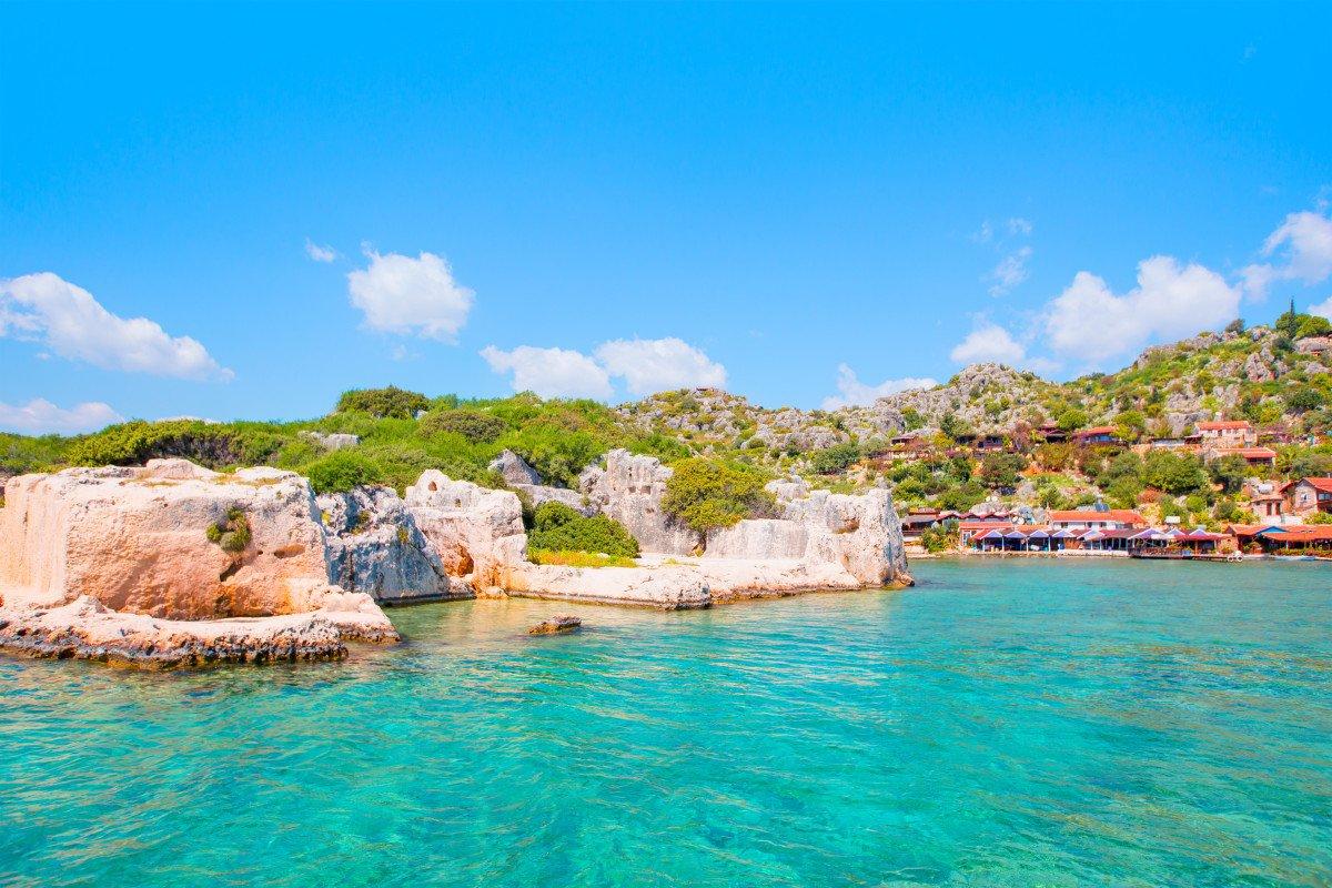 Viaje en velero por la costa sur de Turquía