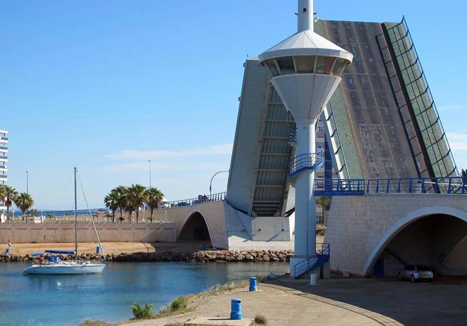 Travesía costera Torrevieja-Mar Menor-Torrevieja.