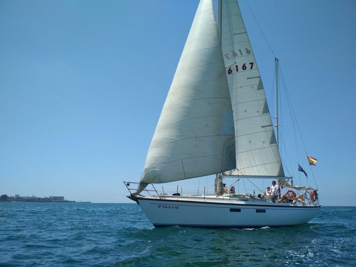 Prácticas Navegación y seguridad PER en Cádiz