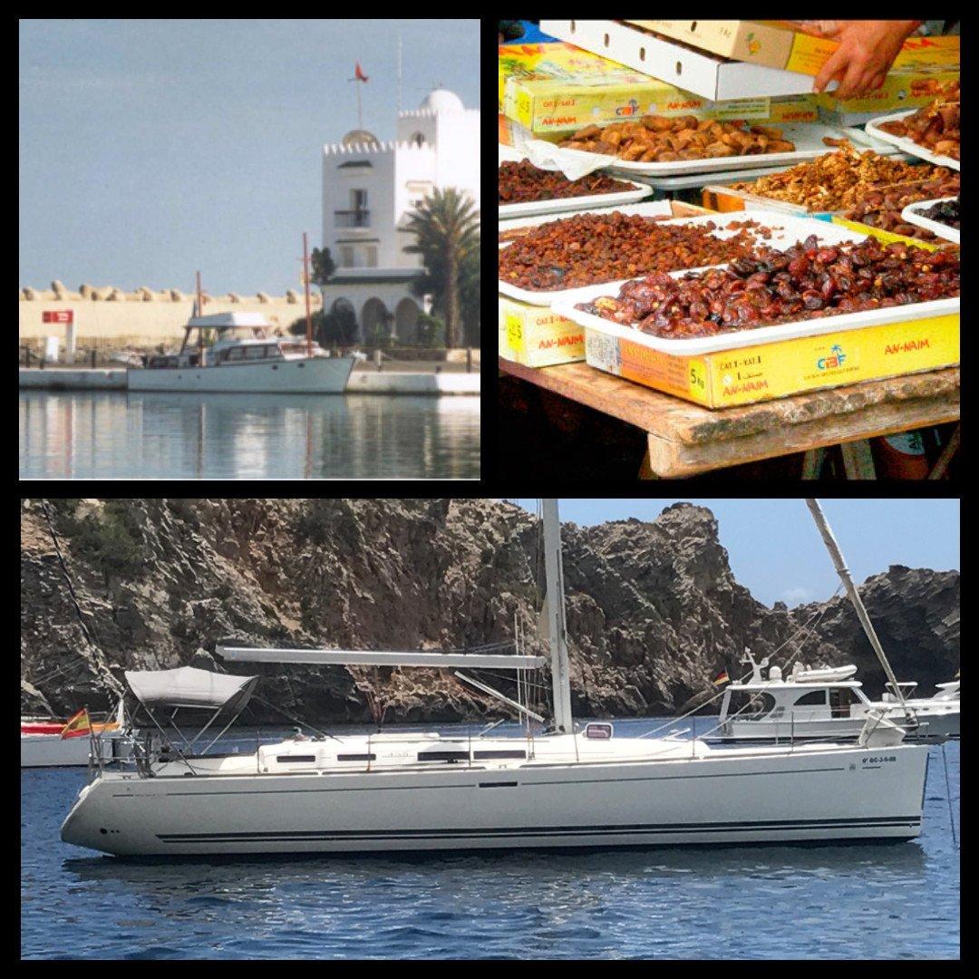 Crucero en velero por Marruecos en el Puente de Mayo