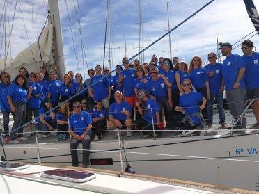 Participa en la regata de la Ruta de la Sal