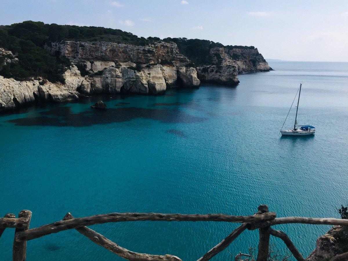 Navegación y Trekking en Menorca