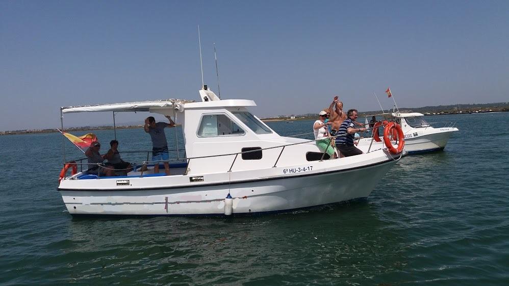 Salidas de pesca en Isla Cristina