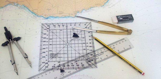 Práctica de navegación en Gijón: Carta y maniobras costeras