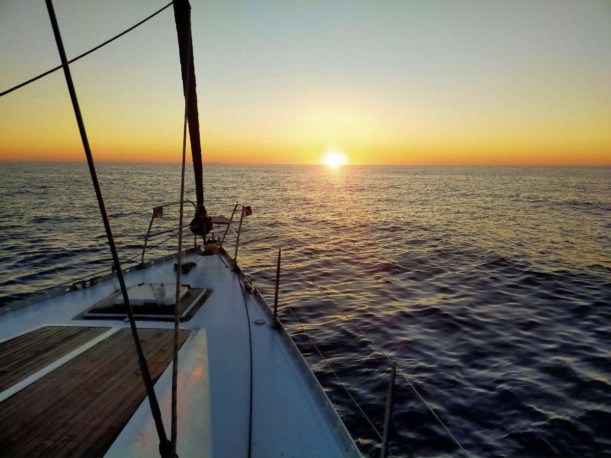 Travesía en velero de Almería a Ibiza