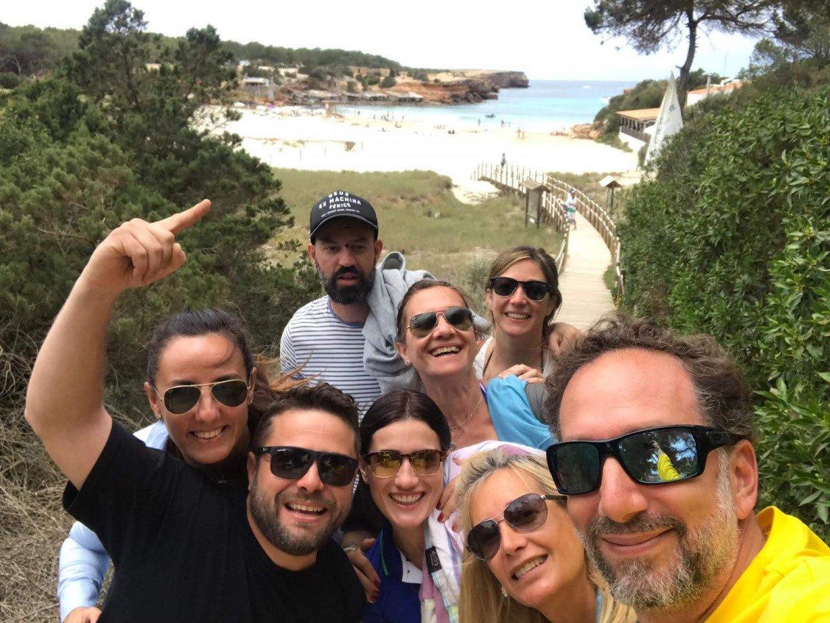 Puente Todos los Santos en velero por Ibiza y Formentera