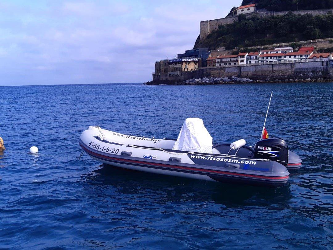 Curso para obtener licencia de navegación en Pasaia