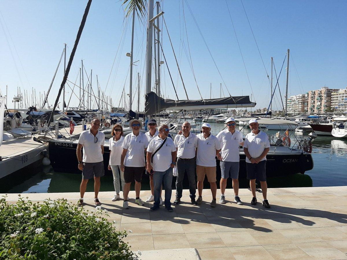 Curso de perfeccionamiento de vela en Crucero en Santa Pola
