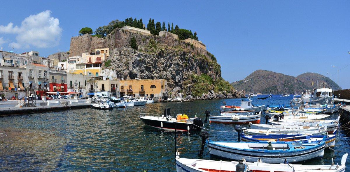 Viaje en velero por las islas Eolias y Sicilia