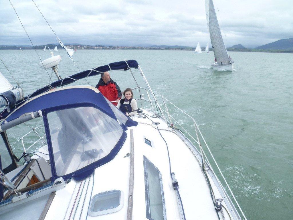 Prácticas navegación a motor PER en Santander