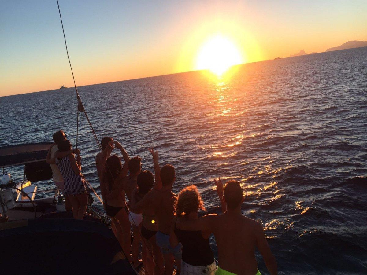 Puesta de Sol por el Mar Menor