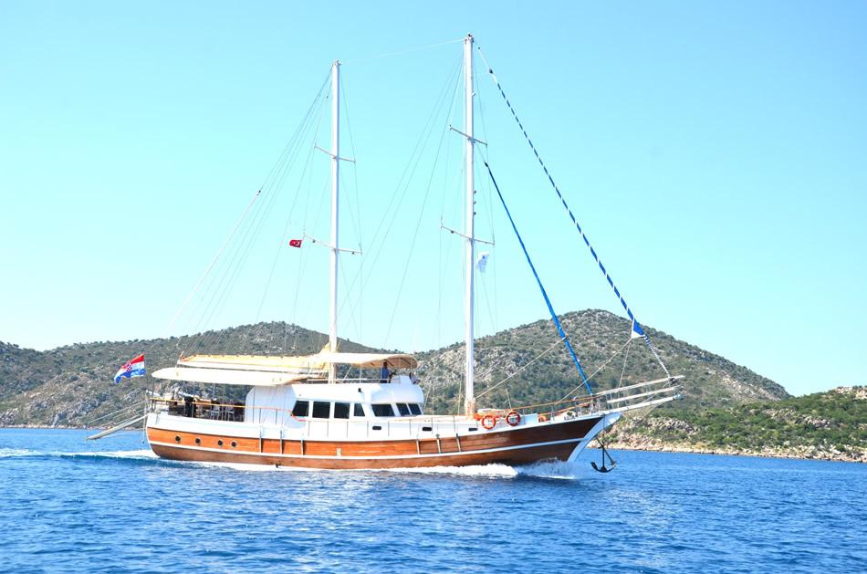 Gulet cruise from Dubrovnik to Split