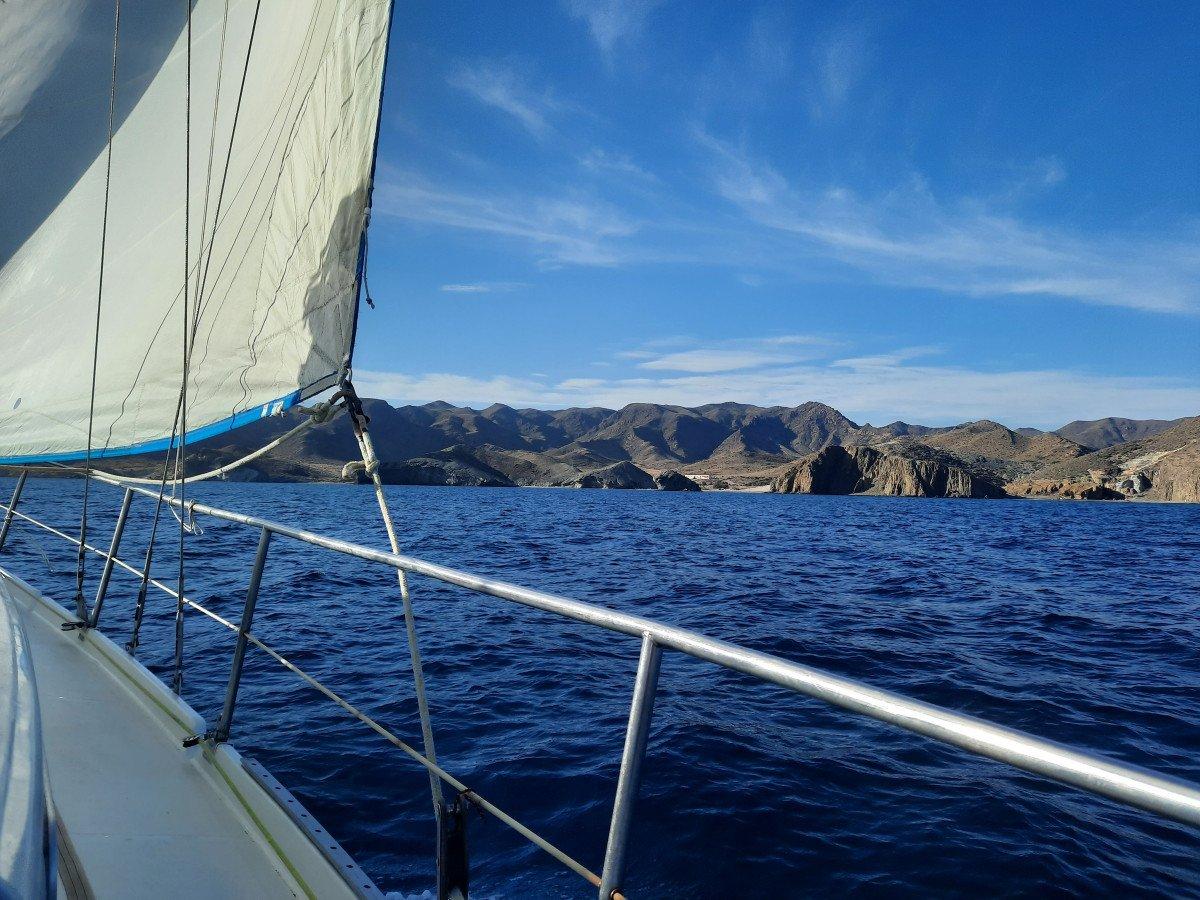 Travesía desde el río Guadiana al Cabo de Gata
