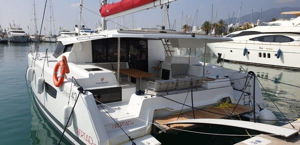 Alquiler de Catamaran Fountaine Pajot Astrea 42 en Ibiza