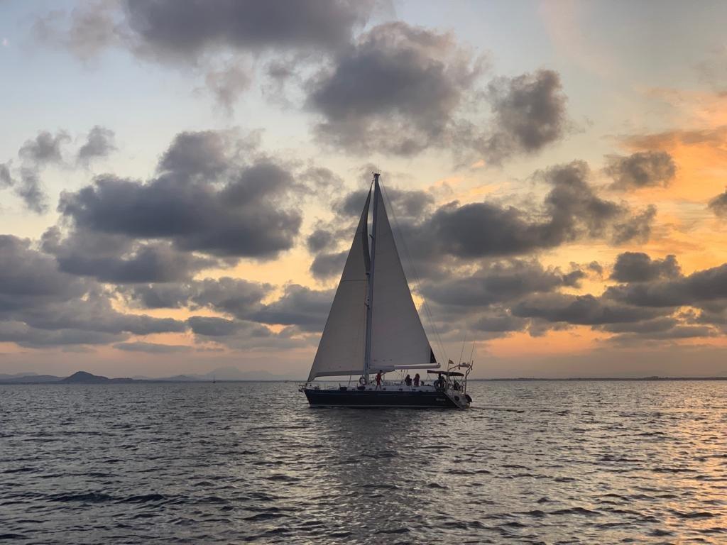 Travesía en velero de Santa Pola a Ibiza