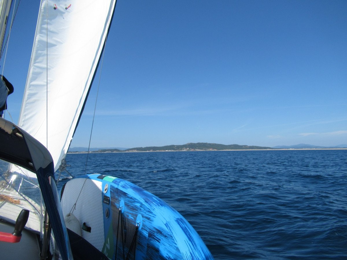 Paseo en velero por la Ria de Pontevedra