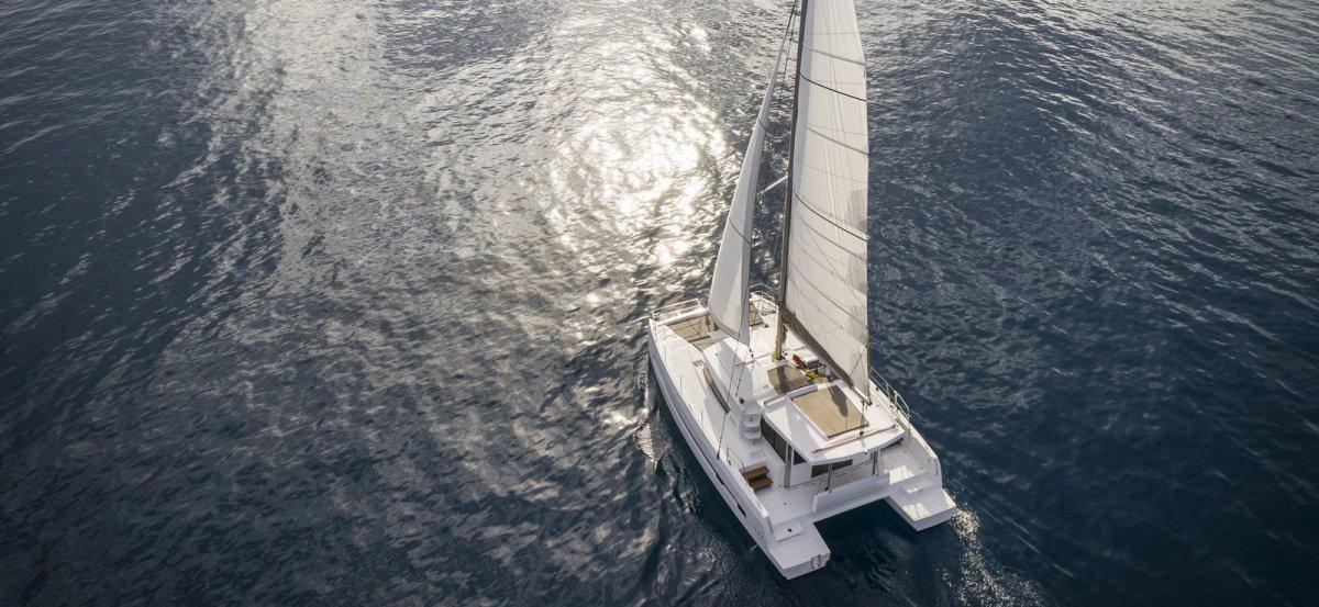 Cruce del Atlántico en catamarán
