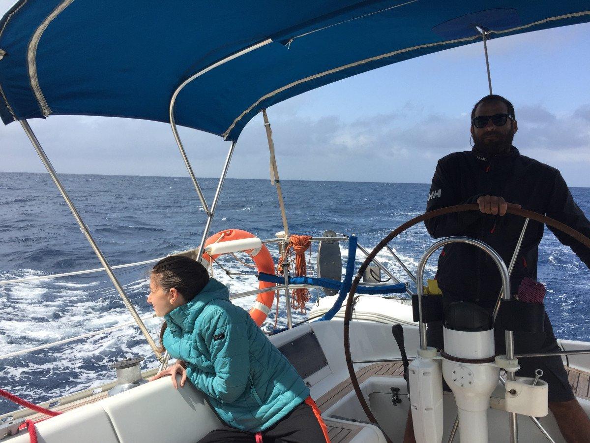 Travesía de Alicante a las Islas Canarias