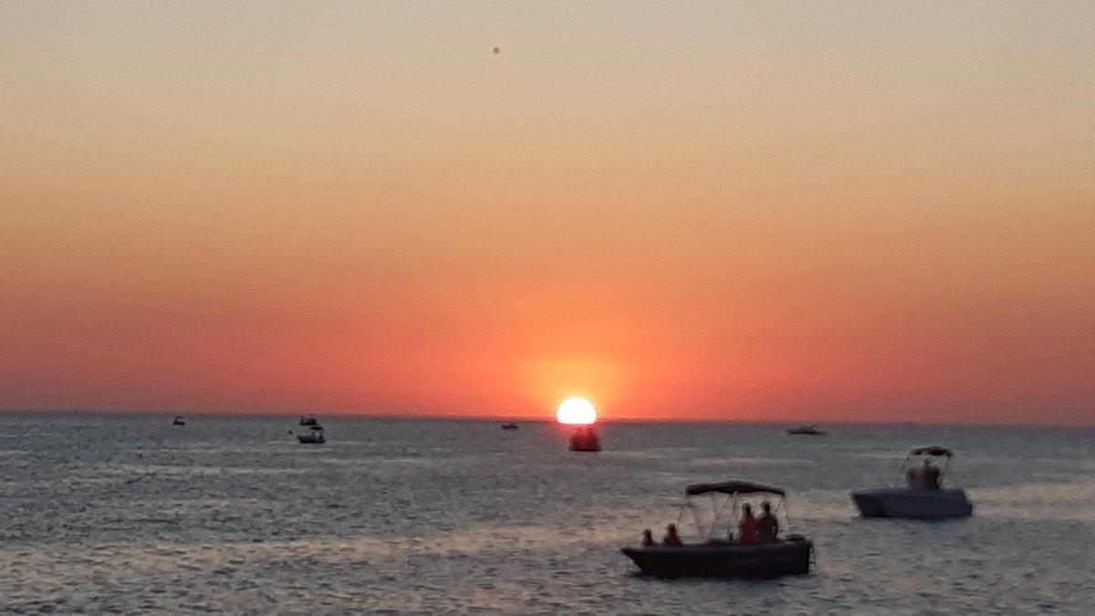 Espectacular Puesta de Sol en Garraf