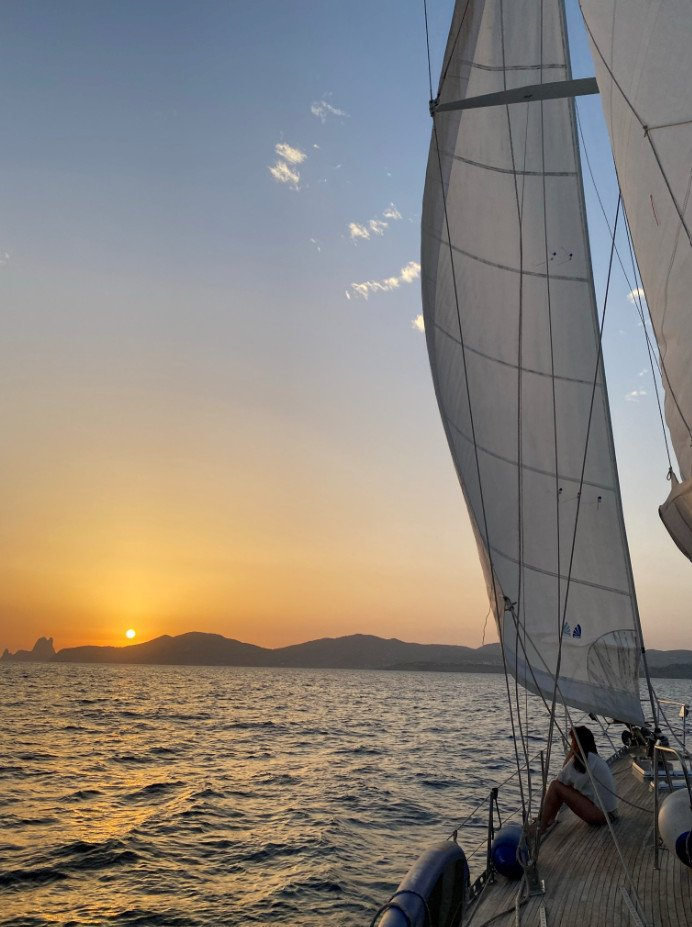 Alquiler de velero por Baleares durante una semana