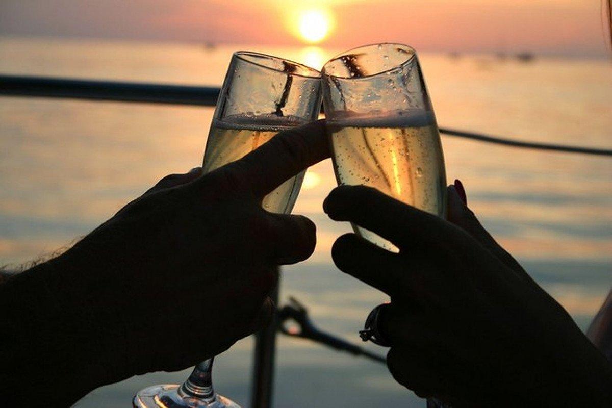 Puesta de sol en velero por Mallorca