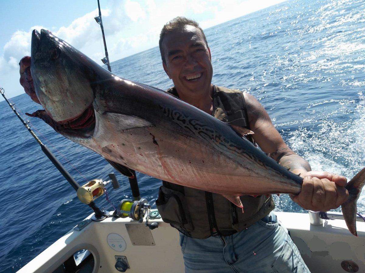 Salidas de pesca en La Manga del Mar Menor