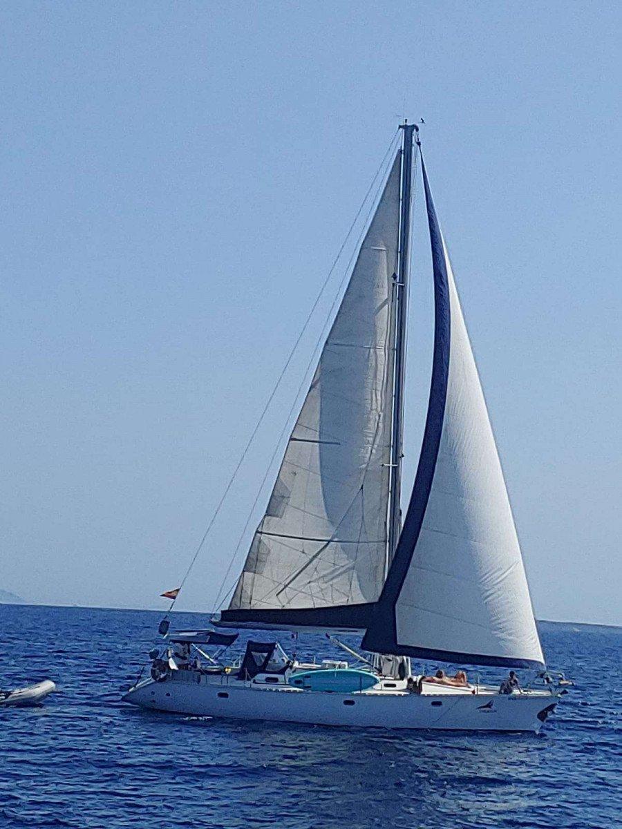 Travesía en velero 8 días Baleares - Andalucía